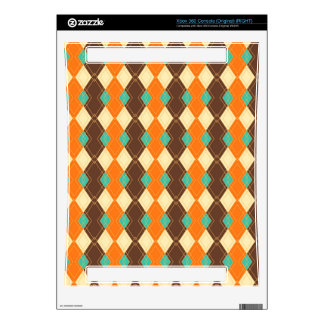 Rhombus pattern skin for xbox 360 console