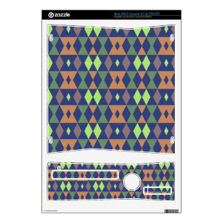 Rhombus pattern skin for the xbox 360 s