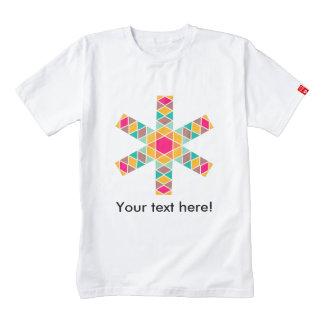 Rhombus star zazzle HEART T-Shirt