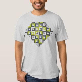 Rhombus T-shirt watermelon