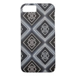rhombuses black and white iPhone 7 case