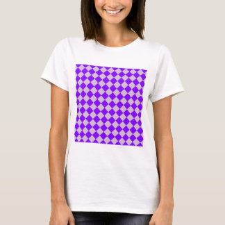 Rhombuses Large - Thistle and Violet T-Shirt