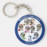 Rhonda's Valor Litter keychain