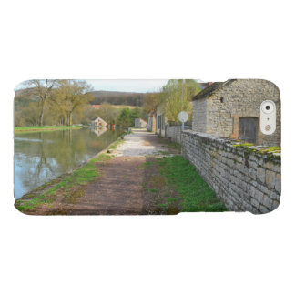 Rhône-Alpes canal French countryside Glossy iPhone 6 Case
