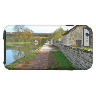 Rhône-Alpes canal French countryside Tough iPhone 6 Case