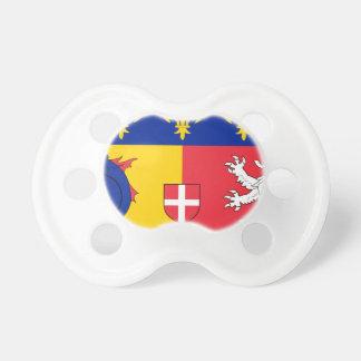 Rhone-Alpes Flag Pacifier