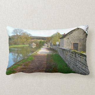 Rhône-Alpes French countryside Throw Pillows