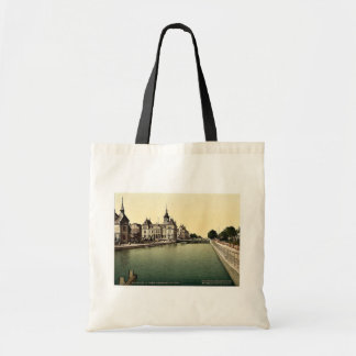 Rhone and Rhine Canal and Post, Mulhausen, Alsace Tote Bag