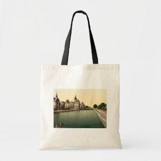 Rhone and Rhine Canal, Mulhouse, France Tote Bag