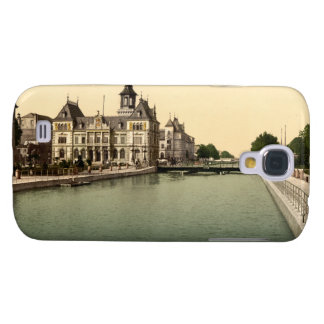 Rhone and Rhine Canal Mulhouse France Samsung Galaxy S4 Cover