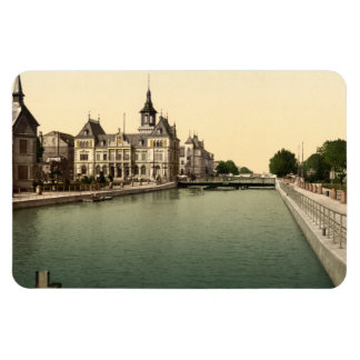 Rhone and Rhine Canal, Mulhouse, France Magnet