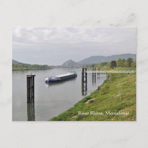 Rhône, Montelimar, Drome, France postcard postcard