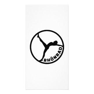 Rhönrad gymwheel card