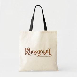Rhosgobel Name Budget Tote Bag