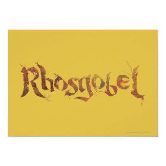 Rhosgobel Name Card