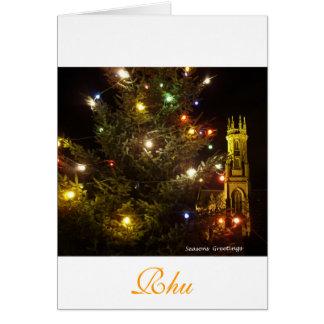 Rhu  Church Argyll and Bute Card