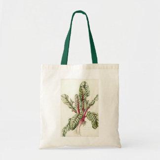 Rhubarb Chard 1992 Budget Tote Bag