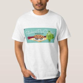 Rhubarb Pie Capital Men's T Front T-Shirt
