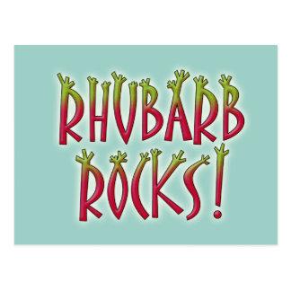 Rhubarb Rocks Postcard