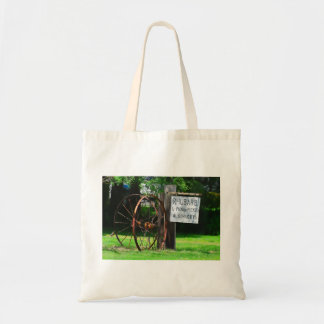 Rhubarb Sign Bag