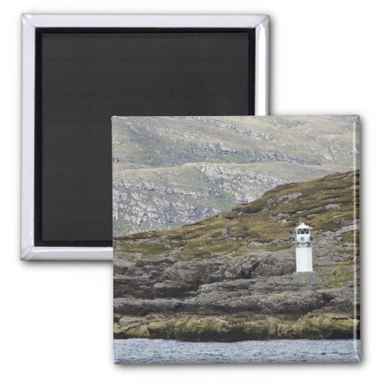 Rhue Lighthouse Along The Coast Magnet