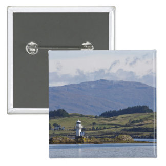 Rhue Lighthouse 2 Inch Square Button
