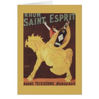Rhum Saint Esprit - Andre Teissedre Promo Card