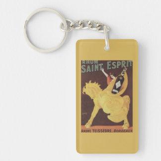 Rhum Saint Esprit - Andre Teissedre Promo Keychain