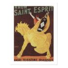 Rhum Saint Esprit - Andre Teissedre Promo Postcard