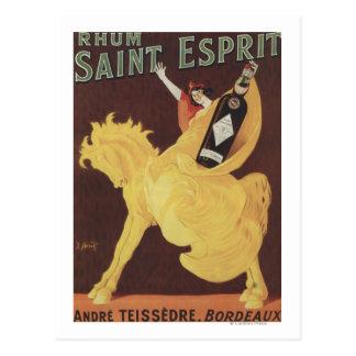 Rhum Saint Esprit - Andre Teissedre Promo Postcards
