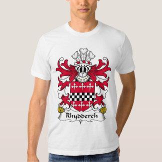 Rhydderch Family Crest Tshirts