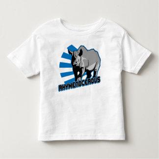 rhymenocerous hiphopapotamus toddler t-shirt