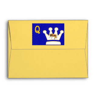 Rhymes for Bugs A-Z (Q for Queen Bee) Envelopes