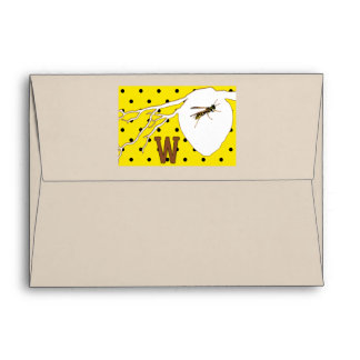 Rhymes for Bugs A-Z (W for Wasp) Envelope