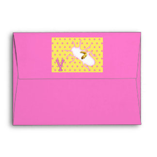 Rhymes for Bugs A-Z (Y for Yellow Mealworm) Envelope