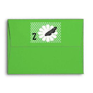 Rhymes for Bugs A-Z (Z for Zebra Butterfly) Envelope