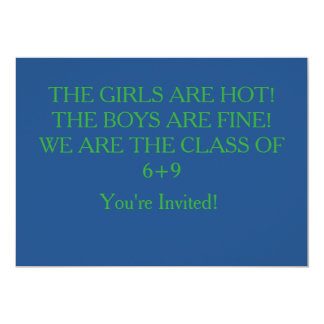 Rhyming 2015 Graduation invitation