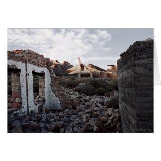 Rhyolite Ghost Town R317 Card