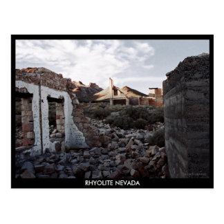 Rhyolite Ghost Town R317 Postcard