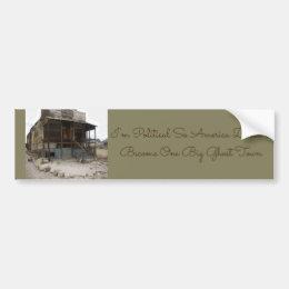Rhyolite Mercantile Building Bumper Sticker