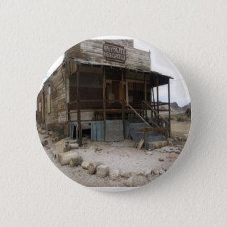 Rhyolite Mercantile Building Pinback Button