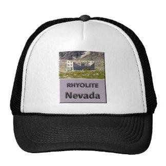 Rhyolite Nevada Trucker Hat