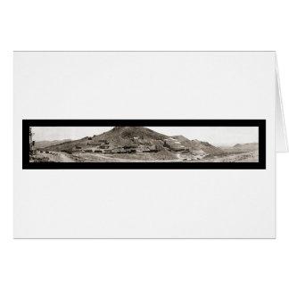 Rhyolite NV Mill Photo 1907 Card