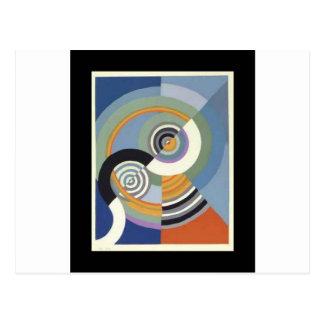 Rhythm by Robert Delaunay Postcard