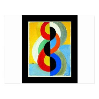 Rhythm Color by Robert Delaunay Postcard