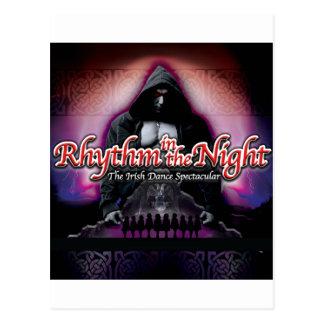 Rhythm in the Night Postcard