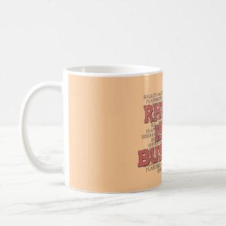 Rhythm Is My Business Coffee Mug
