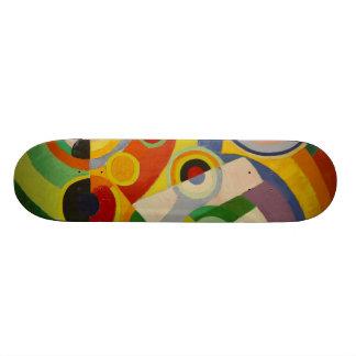Rhythm Joie de vivre by Robert Delaunay 1930 Skateboard Deck