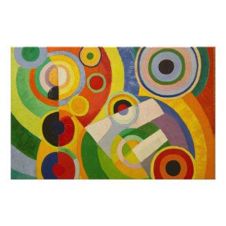 Rhythm Joie de vivre by Robert Delaunay 1930 Stationery