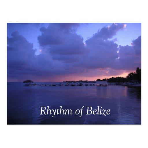 Rhythm of Belize San Pedro Post Card